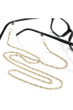 Χρυσή αλυσίδα γυαλιών