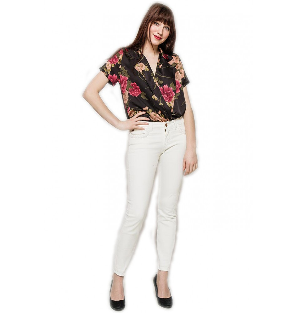 a814041fb27a Φλοράλ πουκάμισο - κορμάκι Lilie Rose