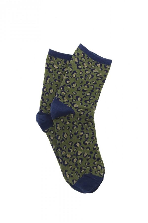 Λεοπάρ κάλτσες -Πράσινο
