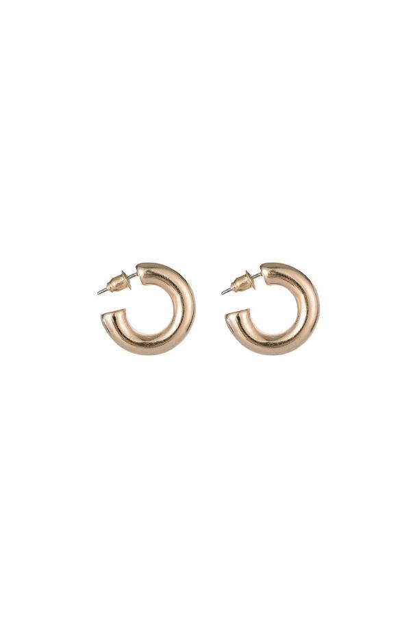 Χρυσά σκουλαρίκια κρικάκια