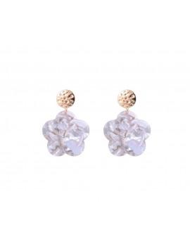 Σκουλαρίκια σε σχήμα λουλούδι