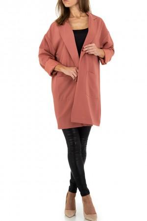 Dusty pink μακρύ blazer