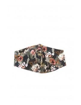 Φλοράλ camouflage μάσκα προσώπου ενηλίκων