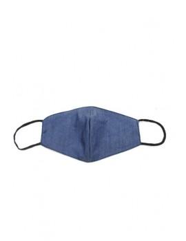 Μπλε denim παιδική μάσκα προσώπου