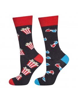 """Ανδρικές κάλτσες με θέμα """"Cinema"""""""