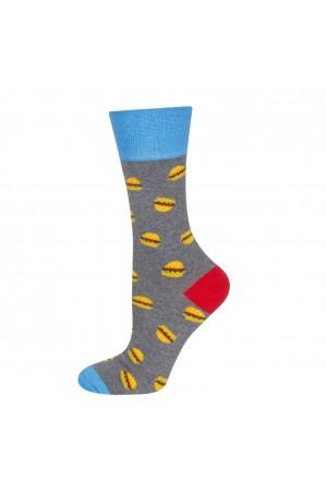 Ανδρικές κάλτσες με burger print