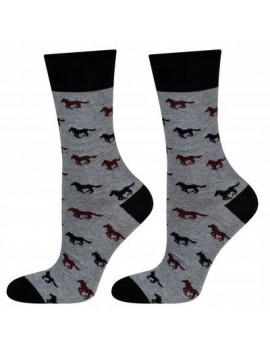 Ανδρικές κάλτσες με άλογα