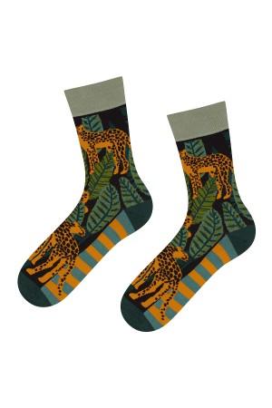 Ανδρικές κάλτσες με cheetahs