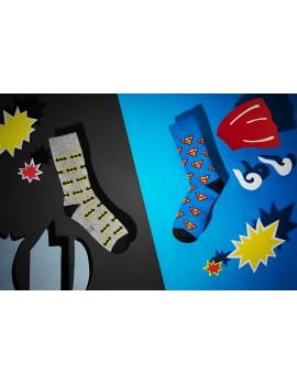 Ανδρικές κάλτσες Superman Logo Blue