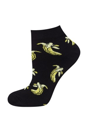 Ανδρικές κάλτσες κοντές με μπανάνες