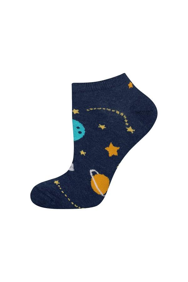 """Ανδρικές κάλτσες κοντές """"space"""""""
