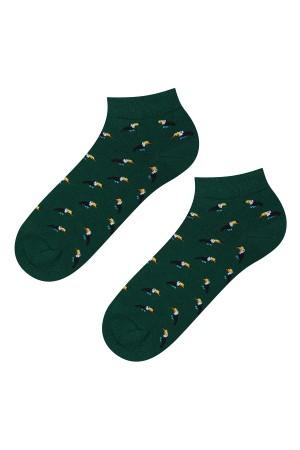 Ανδρικές κάλτσες κοντές με toucans