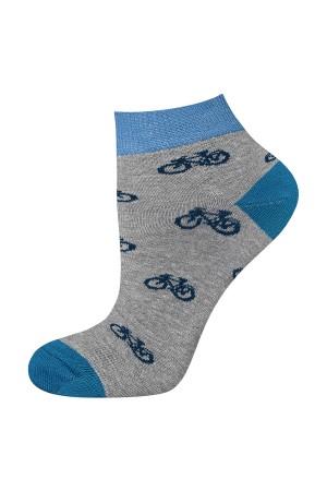 Ανδρικές κάλτσες κοντές με ποδήλατα