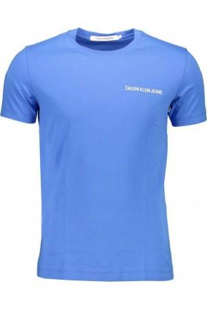 CALVIN KLEIN T-shirt Short sleeves Men J30J315245 Blue