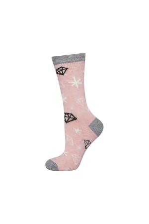 """Παιδικές κάλτσες με θέμα """"Diamonds"""""""