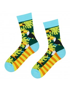 Γυναικείες κάλτσες με toucans
