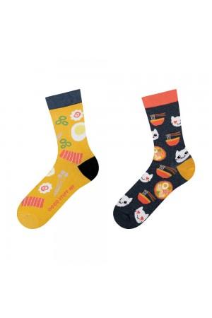 """Γυναικείες κάλτσες με θέμα """"Ramen"""""""