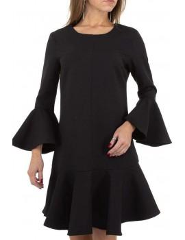 Φόρεμα με μανίκι και τελείωμα καμπάνα JCL Paris
