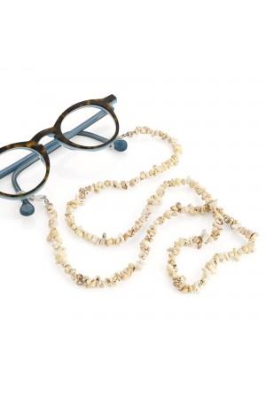 Αλυσίδα γυαλιών με βότσαλο