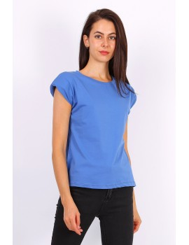 Blue jean t-shirt με βάτες