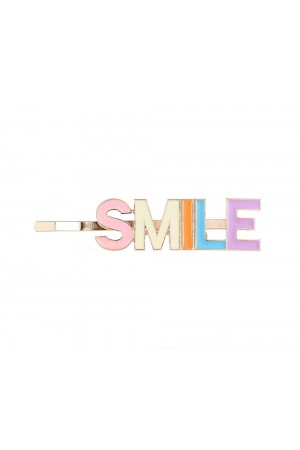 """Τσιμπιδάκι μαλλιών """"SMILE"""""""