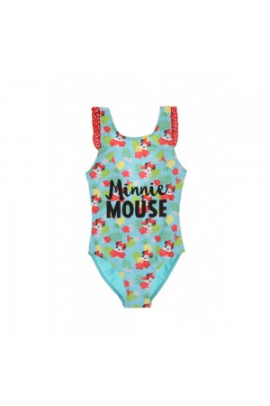 Disney Minnie Mouse Παιδικό Μαγιό ολόσωμο γαλάζιο