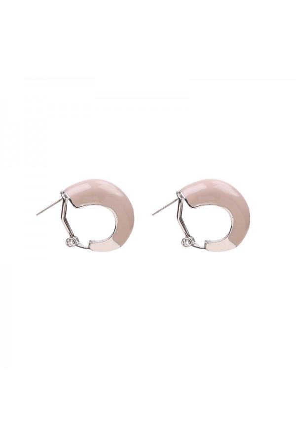 Σκουλαρίκια κρικάκια - Μπεζ