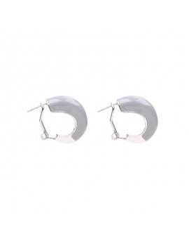 Σκουλαρίκια κρικάκια - Γκρι
