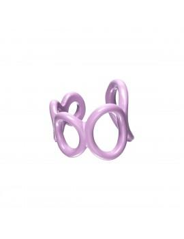 Μωβ candy ring